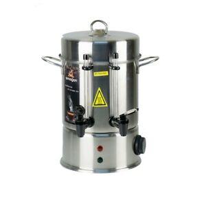 Semaver-Teemaschine-80-Glaeser-9L-Teeautomat-Tee-Dispenser-Spender-wasser
