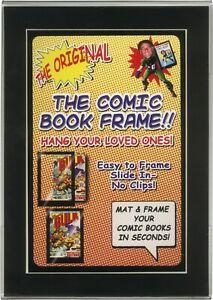 1-CXMMPF-Comic-Book-Picture-Frame-Display-Current-Modern-Size-Black-Matting