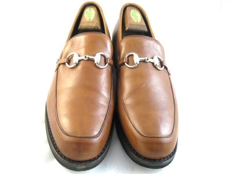 Allen Edmonds  DFW  Loafers 10.5 D Walnut   (517)