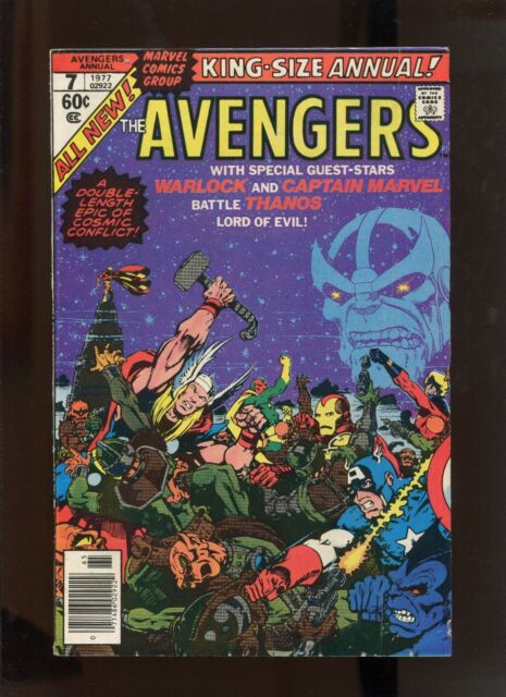 AVENGERS ANNUAL #7 (5.5) THANOS COVER!