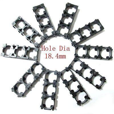 10pc Battery Spacer 3x 18650 Radiating Shell EV Battery Pack Plastic Heat Holder