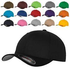 Original FLEXFIT® Basecap Baseball Cap Mütze Kappe Wooly Combed 6277