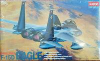 Academy Model Kit Mcdonnell Douglas F-15d Eagle 1:72 Scale Fa080-7000 2109