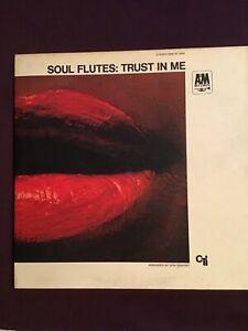 Soul Flutes – Trust in Me – A & M SP 3009, Van Gelder stamped, Jazz LP