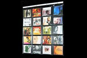 Cd aufh nger f r 20 cds oder sonstiges deco display wand bilderrahmen ebay - Bilderrahmen fur die wand ...