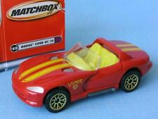 Matchbox Dodge Viper RT 10 with Red Body Boxed Toy Model Car