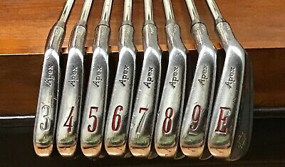 Ben Hogan 99 Apex Iron Set 3-E Wedge S300     eBay
