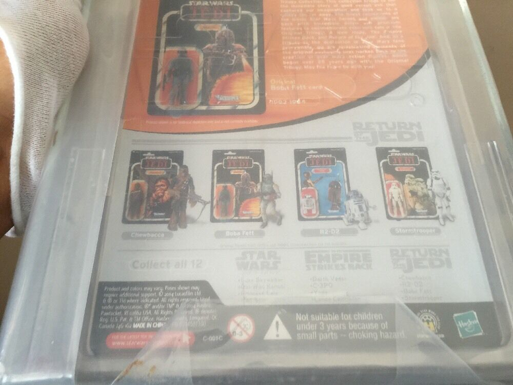 Hasbro Star Wars the original trilogy collection Boba Fett 2004 2004 2004 AFA U85 89ec69