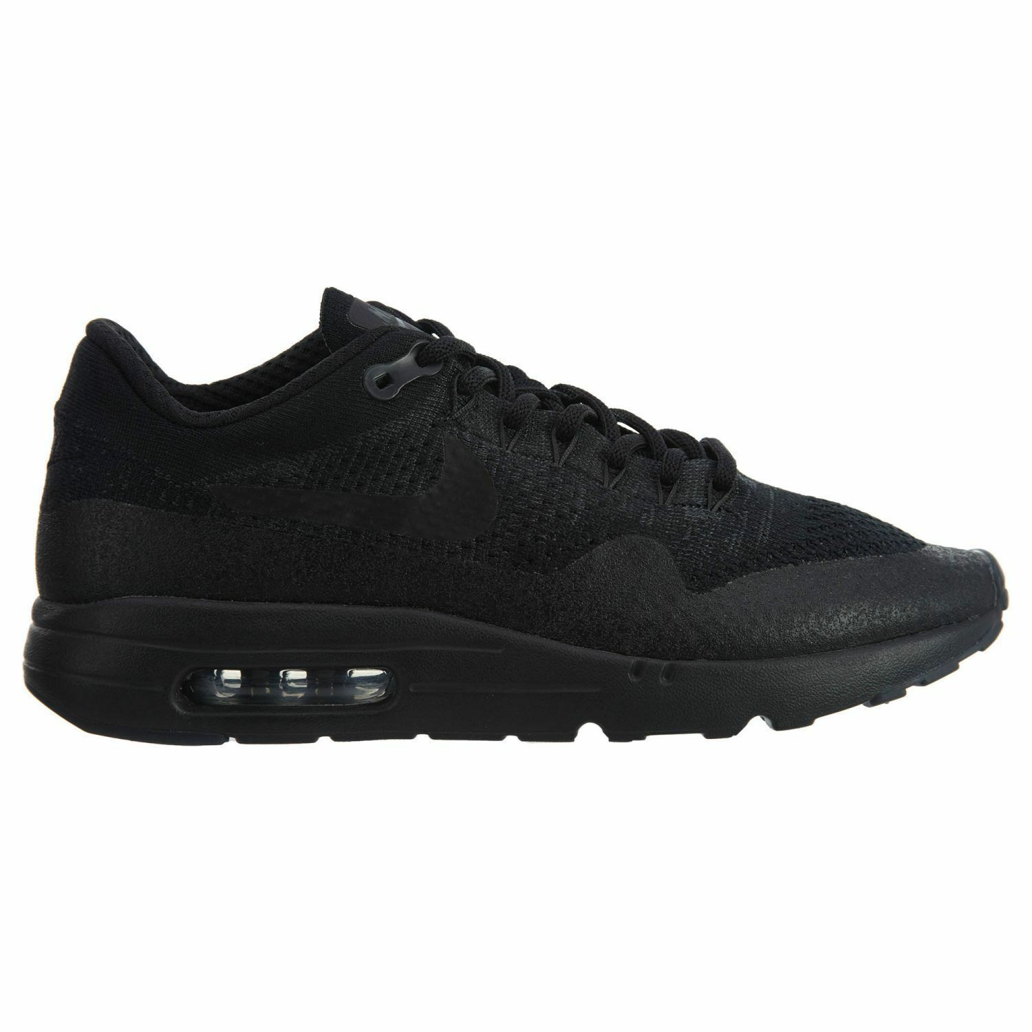 Nike Air Max 1 Ultra Flyknit Uomo Size 10 Shoes Run Nero Anthracite 856958 001