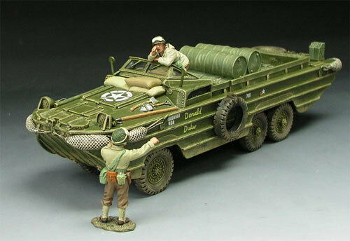King & Country DD063 DUKW, NEW from dealer, NEVER OPENED, Mint in Box
