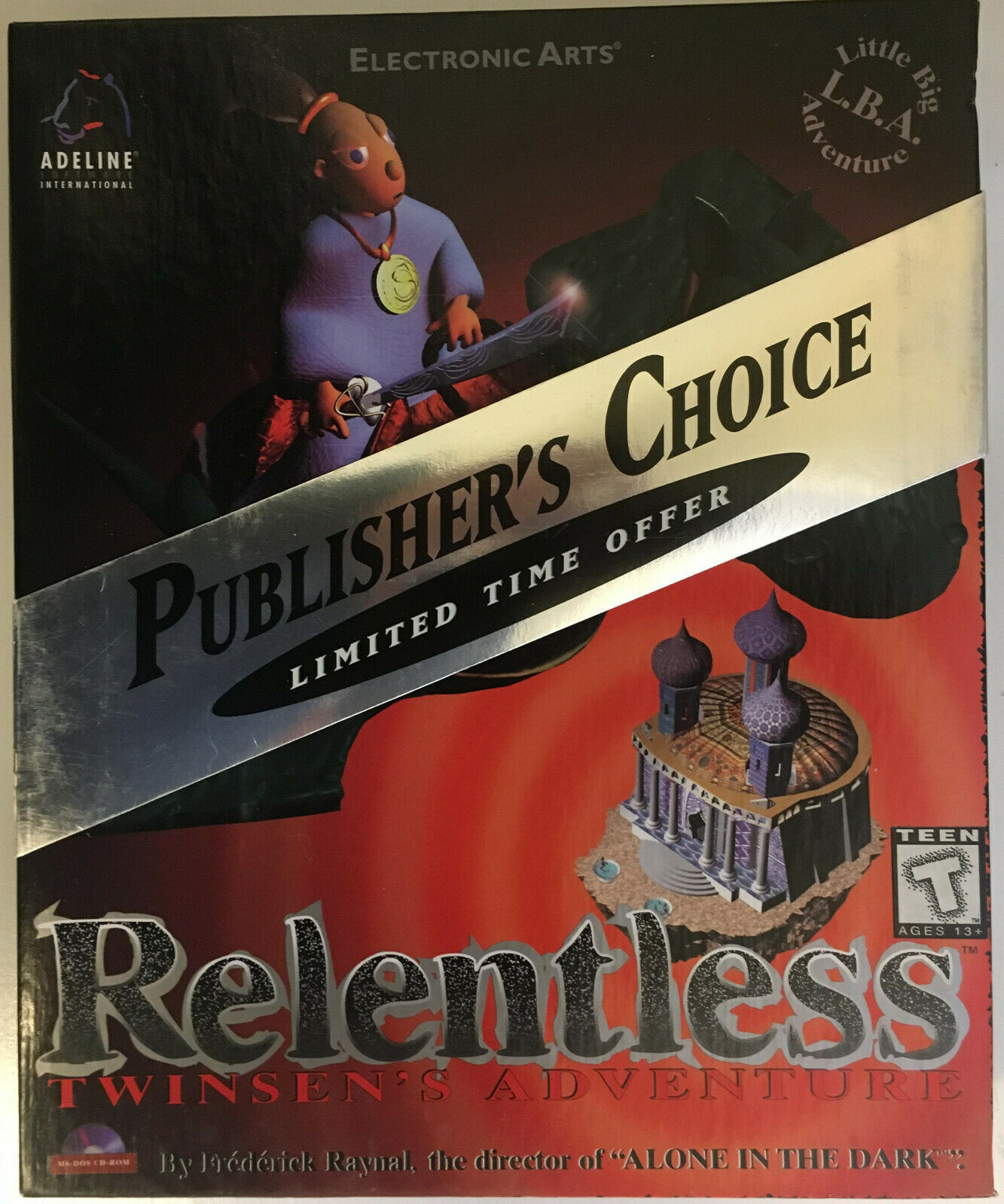 Relentless: Twinsen's Adventure (PC, 1994)