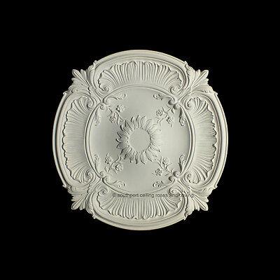 Lightweight Ceiling Rose made of strong resin not polystyrene 77cm Diameter
