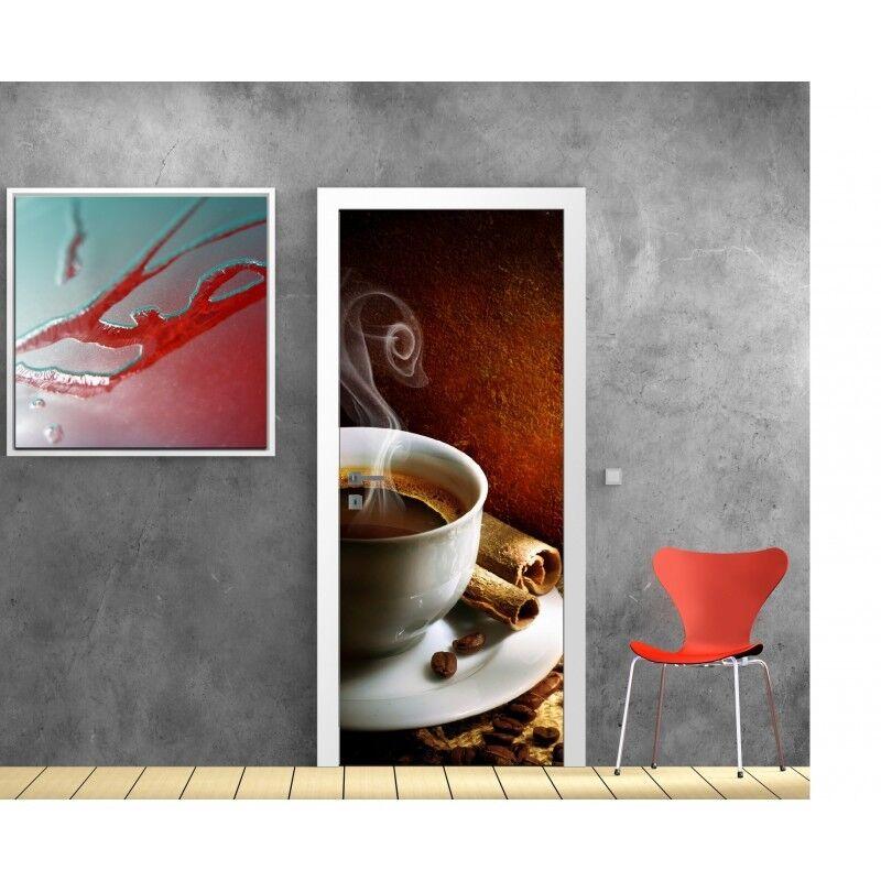 Cartel Póster para Puerta - Café 735 Arte Decoración Pegatinas