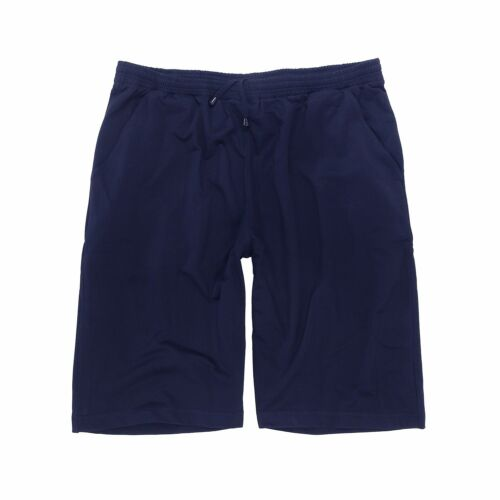 xxl Übergrößen Herren Adamo Jogginghose kurz Freizeithose Athen blau