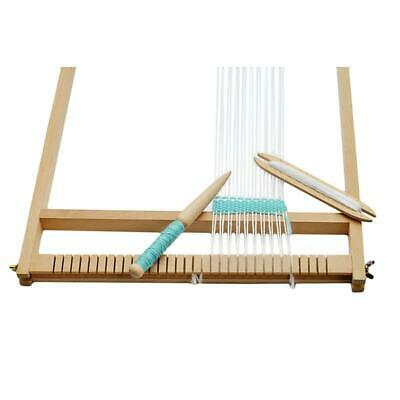 Weaving Tool Wood Woven Sweater Scarf Tapestry Bobbin Stick  Loom Tools Q
