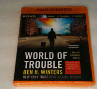 Ben H. Winters World Of Trouble The Last Policeman Factory Sealed Mp3 Cd