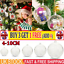 20Pcs Clear Plastic Acrylic Craft Ball Baubles For Christmas Wedding Decors CW