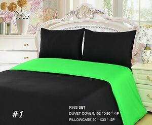 lime green duvet cover single image is loading tache23piecesolidneonlimegreen tache 23 piece solid neon lime green and black duvet cover