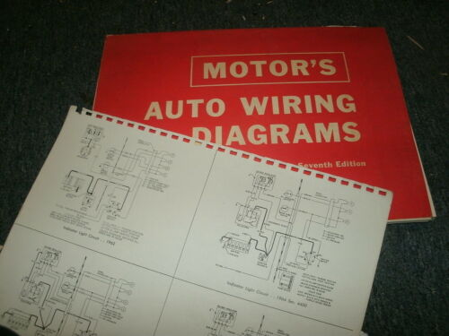 1963-1967 BUICK SPECIAL WIRING DIAGRAMS SCHEMATICS MANUAL SHEETS SET