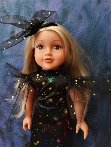 American Girl nostra generazione Halloween Strega Costume Set 18 pollici DOLL CLOTHES