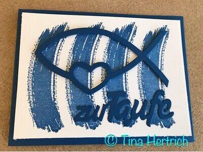 Stampin up Glückwunschkarten zur Taufe Karten 3d Handarbeit