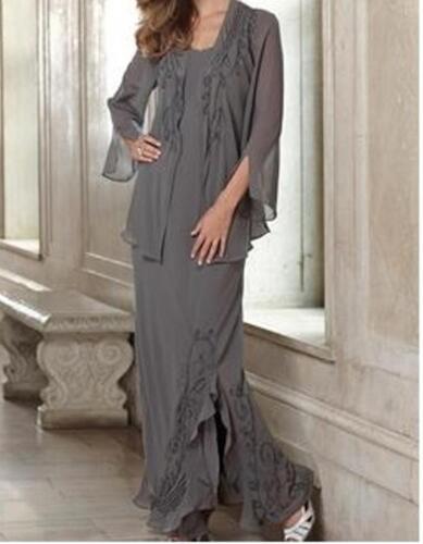Mother Bride Groom Women/'s Wedding jacket dress formal gown plus XL1X 2X 4X 3X5X