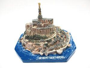 Le-Mont-Saint-Michel-Poly-Modell-11-cm-Frankreich-Souvenir