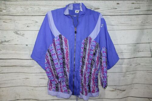 Vintage Nike 90s Andre Agassi Style Hooded Windbre