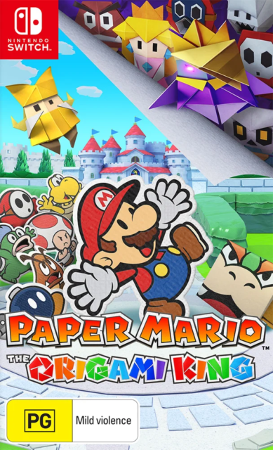 Paper Mario The Origami King Switch Game NEW