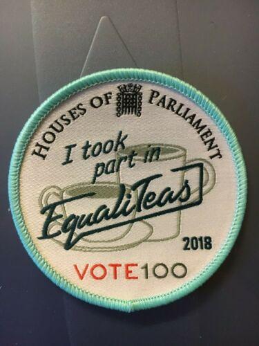 Girlguiding Badge I took part in Equaliteas 2018