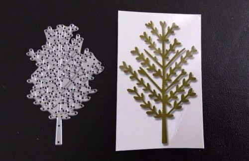 Sizzix Die Cutter  TREE GARDEN  Thinlits fits Big Shot Cuttlebug
