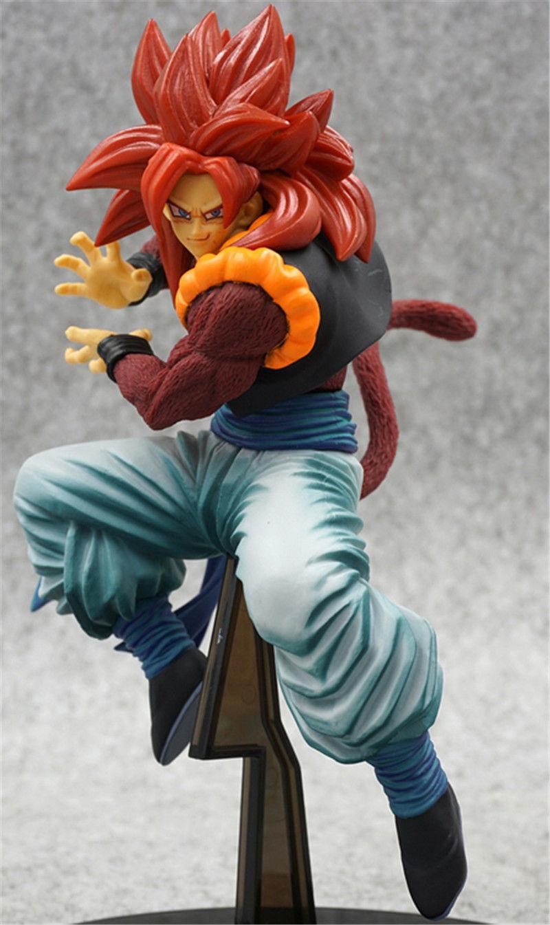 Dragon Ball Z GT SCultures Gogeta Super Saiyan 4 SS4 Red Hair Colosseum Figure 2