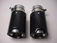 BMW M1 M2 M3 M4 M5 M6 Carbon Fiber Exhaust tip's (2) 1 2 3 4 5 6 7 8 Series