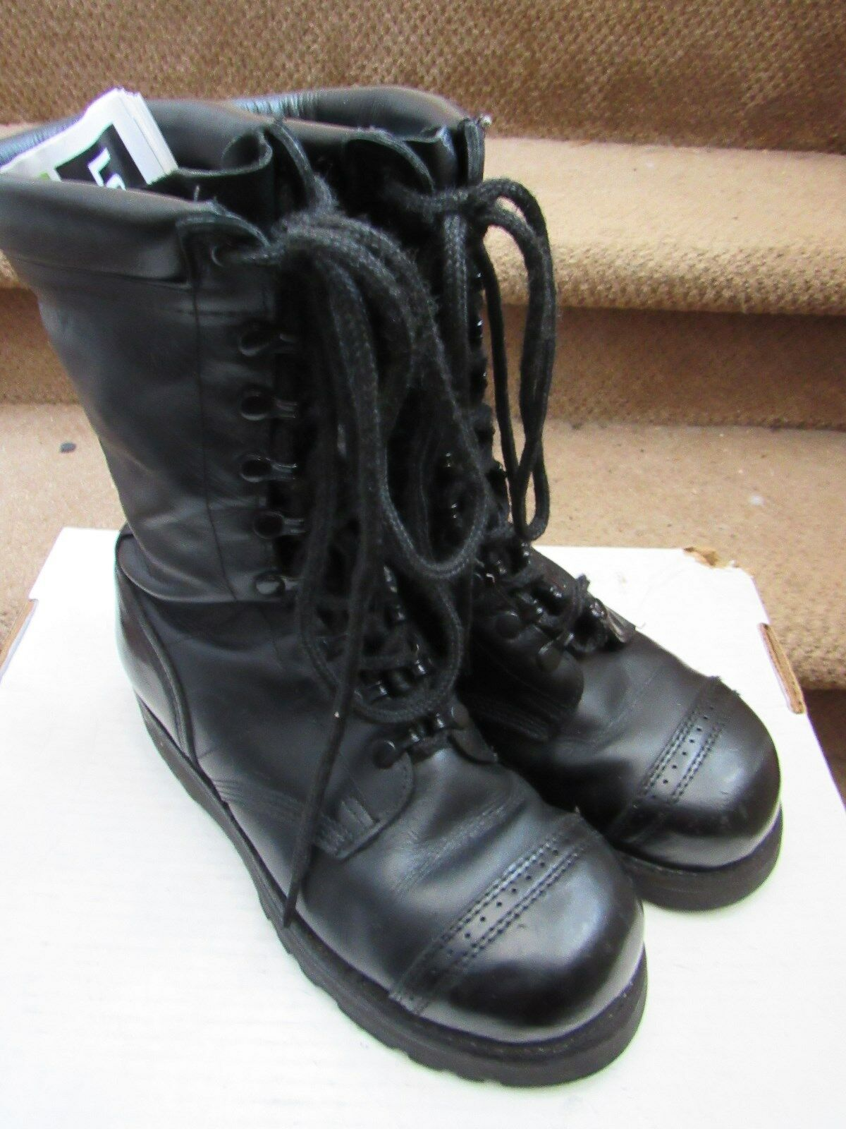 Corcoran black speedlace Combat Boots Men's sz 7 D Full Force US Army steel toe