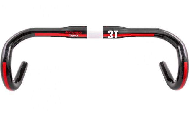 3T Rotundo Team UD Carbon Handlebar Round 31.8mm x 44cm New