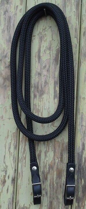 10ft abrochado finalizado Bucle riendas hecha por equipos-Doma natural, Equitación Equitación Equitación 2b106c