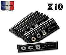 OCB Premium black x 10 Slim Premium King Size Papers Blättchen Schwarz ocb CHEAP