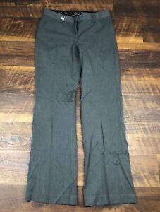 Express EDITOR Charcoal Gray Wide Leg size 4 Career Women's Dress Pants