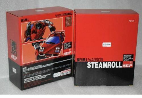 NEW Transformers BadCube OTS-14 Warrior Steamroll MP Sideswipe In Stock