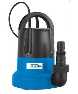 Guede-Flachsaugerpumpe-GFS-401-S-Tauchpumpe-Kellerpumpe-Pumpe-bis-1-mm-Hochwasser