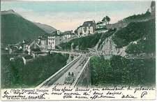 CARTOLINA d'Epoca VERBANIA provincia : Craveggia Vocogno 1904