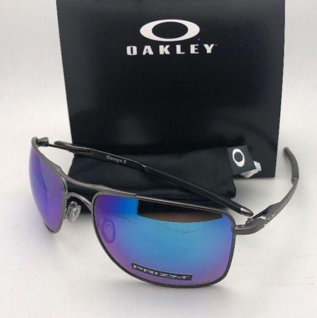 c658e9ab6c Sunglasses Oakley Gauge 8 4124-06 62 Matte Gunmetal Prizm Polarized for sale  online