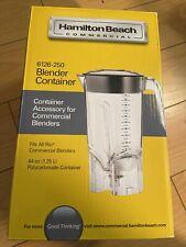Hamilton Beach Commercial Blender Container 6126 50