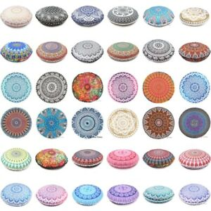 Mandala-Round-Floor-Case-Indian-Pillows-Bohemian-Cover-Cushion-Pillow-Throw-Case