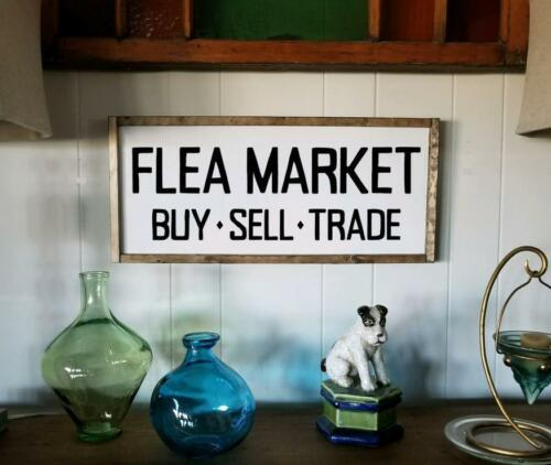 Flea Market Buy Sell Trade Sign