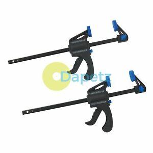 "2-Pack-x-150mm - 6"" Quick-Release-cliquet-Bar - Clamp-Forte-Poids Léger Clamps"