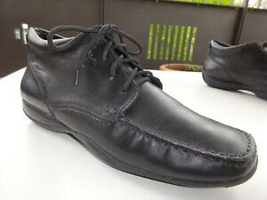 Gr F Schwarz Damen Schuhe 39 Leder Stiefeletten Respira Geox zGUpqSVM