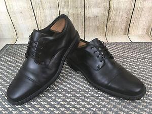 Rockport Ellingwood Derby Black Leather