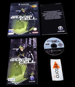 SPLINTER-CELL-Nintendo-GAMECUBE-PAL-Espana-Espanol-Game-Cube