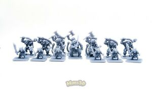 Minis3D-Rep-Heroquest-Remake-F-Schizzo-Greens-Fimir-Orc-Goblin-Ulag